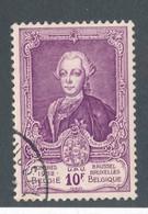 BELGIQUE - N°YT 889 OBLITERE - COTE YT : 11€ - 1952 - België