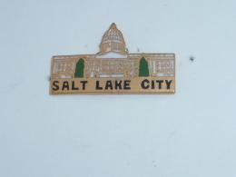 Pin's SALT LAKE CITY - Villes