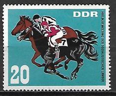 ALLEMAGNE  /  DDR    -    HIPPISME    -   Oblitéré - Horses