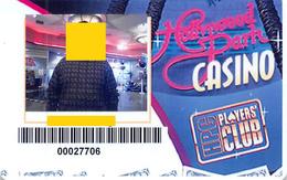 Hollywood Park Casino - Inglewood CA - Slot Card (blank Reverse) - Casino Cards
