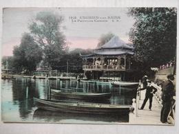 Enghien Les Bains. Le Pavillon Chinois. Animée. 1921 - Enghien Les Bains