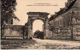 MOUTIERS SAINT JEAN - LA PORTE D'ENTRÉE PRINCIPALE DE L'ANCIEN MONASTÈRE - Other Municipalities