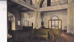 HOTEL WASHINGTON, COLON, PANAMA. LOBBY. MADURO JR. CIRCA 1910- BLEUP - Panama