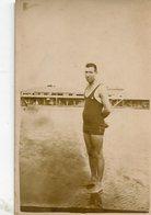 MAN HOMBRE OLD FASHION MODA SWIMSUITS MAILLOTS TRAJE DE BAÑO BEACH PLAYA POSTAL- LILHU - Postkaarten