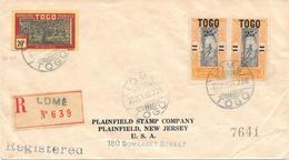 Togo Lettre Lomé 1927 - Togo (1914-1960)
