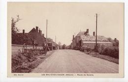 LES BRUYERES RADON - 58 - Nièvre - Route De Nevers - France