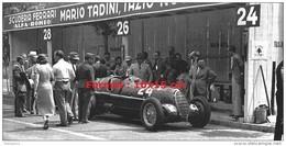 Reproduction D'une Photographie D'une Ferrari Au Stand En 1936 - Reproductions