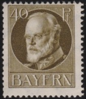 Bayern    .       Michel   .       100  I          .     **       .      Postfrisch    .    /    .    MNH - Bayern