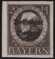Bayern    .       Michel   .       133  II  B         .     **       .      Postfrisch    .    /    .    MNH - Bayern
