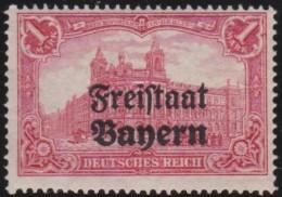Bayern    .       Michel   .     148  B            .     **       .      Postfrisch    .    /    .    MNH - Bayern