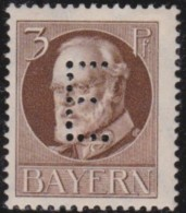 Bayern    .       Michel   .    Dienst  12          .     **       .      Postfrisch    .    /    .    MNH - Bayern