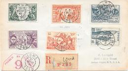 Togo Lettre Lomé Pour Les USA 1941 Censure Censor Geoffnet - Togo (1914-1960)
