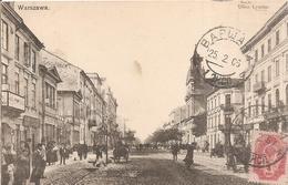 Varsovie . Warszawa  . Ulica Leszno . - Poland