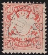 Bayern     .     Michel   .     42      .     O   .      Gebraucht    .    /    .    Cancelled - Bavière