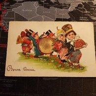 Bonne Année Dessin D'Enfants Avec Fanfare (1930) - Nouvel An