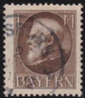 Bayern     .     Michel   .     104   II A       .     O   .      Gebraucht    .    /    .    Cancelled - Bayern