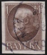 Bayern     .     Michel   .     104  II B        .     O   .      Gebraucht    .    /    .    Cancelled - Bayern