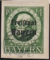 Bayern     .     Michel   .    169  B       .     O   .      Gebraucht    .    /    .    Cancelled - Bavière