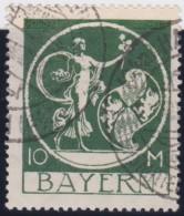 Bayern     .     Michel   .      194        .     O   .      Gebraucht    .    /    .    Cancelled - Bayern