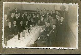 GROUP GRUPO MEN HOMBRES DINNER CENA OLD SUITS TRAJES FASHION MODA POSTAL PHOTO FOTO - LILHU - Postkaarten