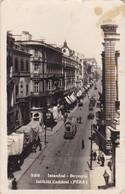 ISTANBUL. BEYOGLU. ITIKLAL CADDESI (PERA). CIRCA 1920's TURKEY. TRAMWAY.- BLEUP - Turkije