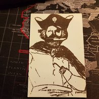 Vrai Carte Pirate De L'Est Alfred Laoureux - Sin Clasificación