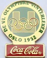 COCA COLA  - OSLO 1952 - Olympic Games