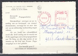 Postkaart Van Moerzeke Naar Landskouter - 1960-79