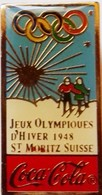 COCA COLA  -  SAINT MORITZ 1948 - Olympic Games