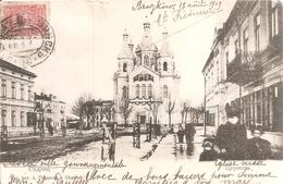 Ville De Pologne Sous Dominance Russe En 1909 . - Pologne