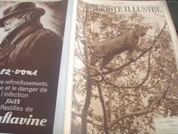 CONGO LEOPARD/CHOCOLAT COTE D OR/LIEGE EVADES/MERMOZ HOMMAGE/CAMARGUE/ESPAGNE GUERRE/VALAIS MONTAGNES    /PATRIOTE - Livres, BD, Revues