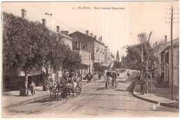 CPA ALGERIE EL-BIAR.RUE GENERAL BOURMONT - Algérie