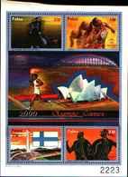 72281) PALAU- 2000 Mf 1428-31 Giochi Olimpici Di Sidney  Mnh** - Palau