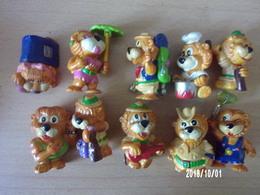 Leos Venturas (Lions) (10 Pièces) - Familles
