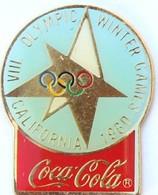 COCA COLA  -  CALIFORNIA 1960 - Olympic Games
