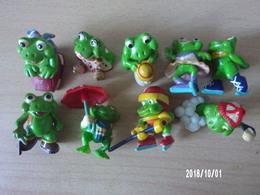 Ranoplas / Mini Splash (grenouilles) (9 Pièces) - Familles