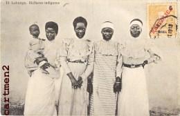 LUBANGO MULHERES INDIGENAS INDIGENES ANGOLAISE ANGOLA ETHNOLOGIE ETHNIC AFRIQUE - Angola