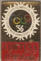 COCA COLA  -  CORTINA '56 - Olympic Games