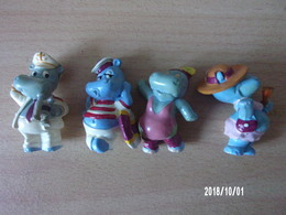 Happy Hippos (4 Pièces) - Familles