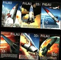 72283) PALAU- 2000 SERIE COMPLETA-1432-37 Esplorazione Dello Spazio (II) - Mnh** - Palau