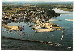 LESCONIL  --1984 -- Vue Aérienne  Le Port De Pêche De Lesconil--Le Pont Sur Le Steir  -- Cachet Lesconil - 29 - Lesconil