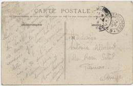 Guerre De 14, Pamiers ,Trésor Et Postes,secteur 149, Carte Postale,,Turpin Dans Son Laboratoire, Mélinite,1915 - Marcophilie (Lettres)