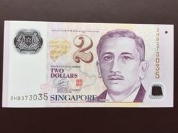 SINGAPORE P46 2 DOLLARS 2006 POLY UNC - Singapore