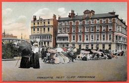 CPA Post Card Royaume-Uni UK RAMSGATE - West Cliff Promenade - England Kent - Ramsgate