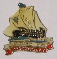 Pin's BATEAU 036 VOITURE 1492 PRINCETON K.Y. - Bateaux