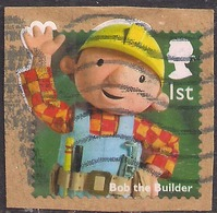 GB 2014 QE2 1st Class Childrens TV Bob The Builder Used Stamp  On Paper SG 3561 ( R861 ) - 1952-.... (Elizabeth II)