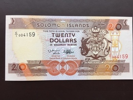 SOLOMONS ISLAND P21 20 DOLLARS ND 1996 UNC - Solomon Islands