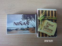 Ninas / Fleur De Savane (2 Pièces) - Boites D'allumettes