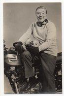 Sport MOTO -- Photo  Dédicacée Georges MONNERET (moto Triumph ) --499 Victoires -- - Sport Moto