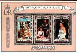 72285) PENRIHYN-SILVER JUBILEE-1977 -MNH** - Penrhyn